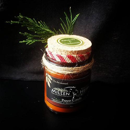Balsam Fir & Cardamom Prayer Candle