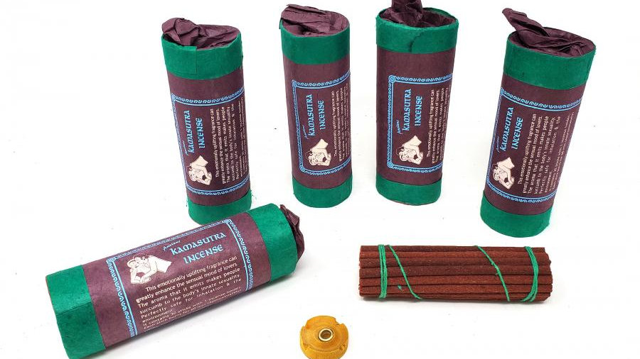 """Tibetan KAMASUTRA Incense (30 stick) 4.5"""" Long"""