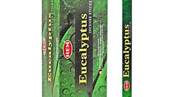 Eucalyptus Incense (Hem) -8ct
