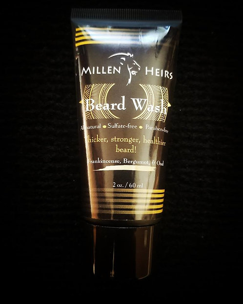 Beard Wash (Frankincense, Bergamot, & Oud)