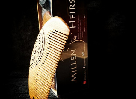 Wooden Beard & Hair Combs