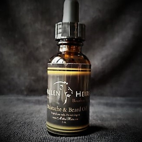 BourbonWood Mustache & Beard Oil