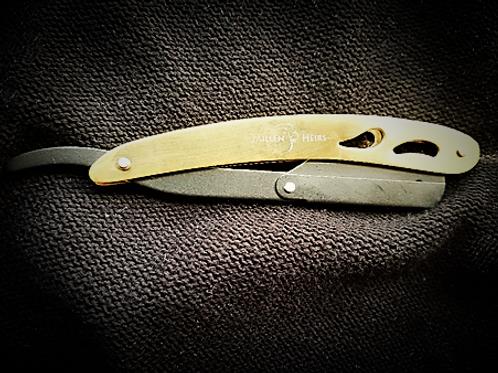 Millenheirs Black & Gold plated Shavette