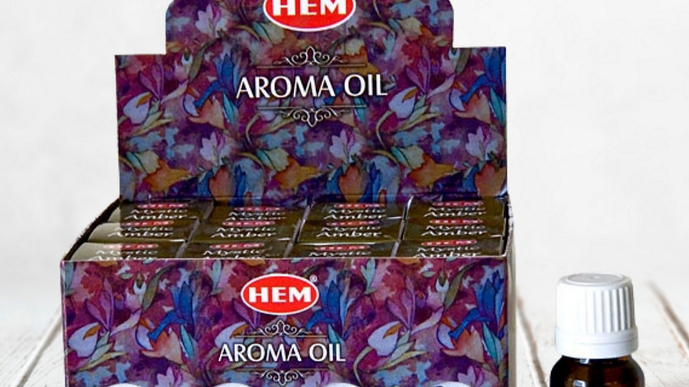 MYSTIC AMBER AROMA OIL