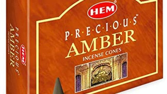 PRECIOUS AMBER INCENSE CONES