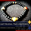 Thumbnail: Pittsburgh Steelers themed beaded bracelet