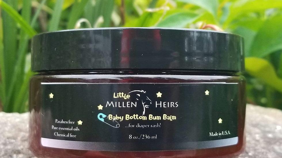Baby Bottom Diaper Rash Balm - 8 OUNCE