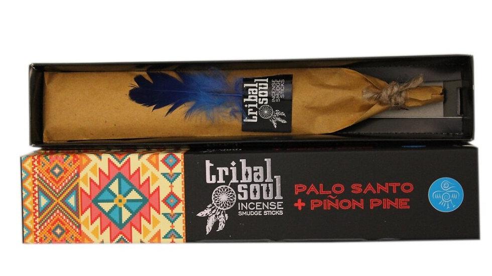 Tribal Soul Incense - Palo Santo & Piñon Pine