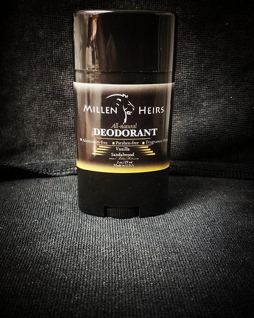 Vanilla Sandalwood All natural deodorant