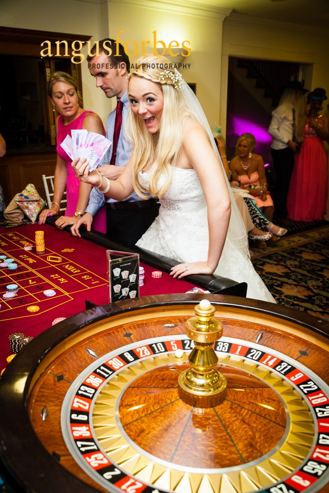 The bride is a winner