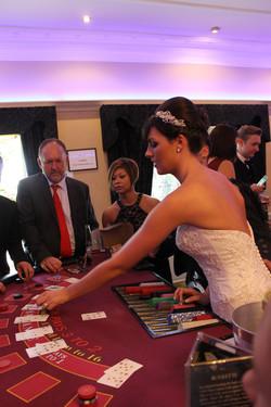 Blackjack Wedding Casino hire