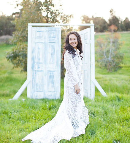 Photo by Kirsty Russell Photography taken in my front yard inChittering Valley. Doors from Kirsty's wedding!