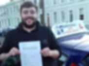 man-passed-driving-test-with-kp-driving-lessons