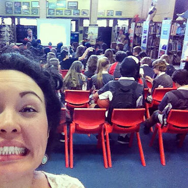 Teaching songwriting workshops! Nervous and excited!