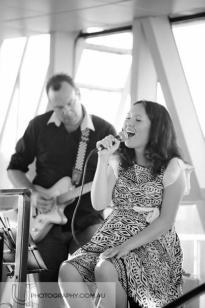 EP Launch on the Crystal Swan one month before I had my fourth baby- photo by UC Photography