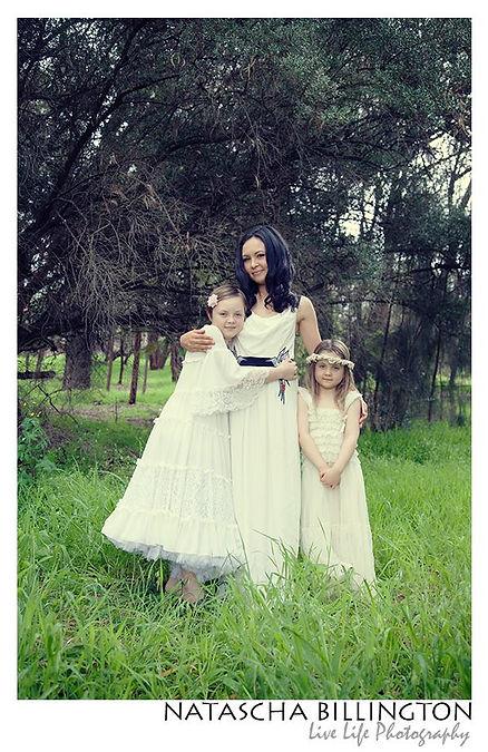 Paperdolli Vintage dress, photo by Natascha Billington Live life Photography