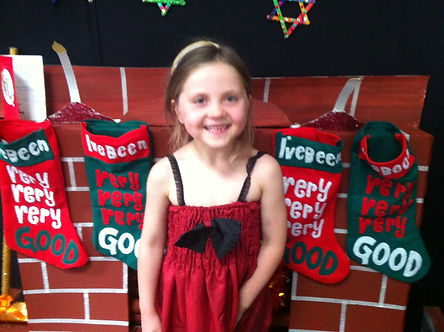 Jewel's end of year Christmas performance in pre primary