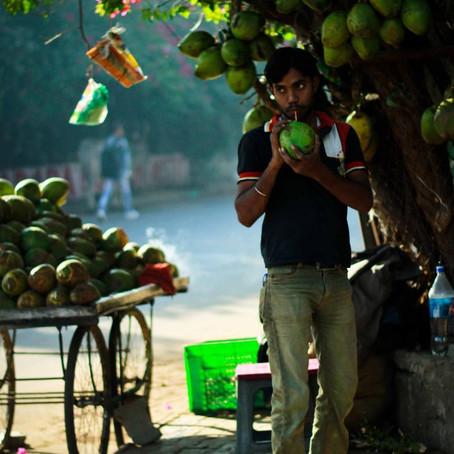 Project 365: Day 67, Coconut Water seller