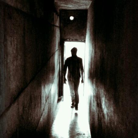 Through a secret passage…..