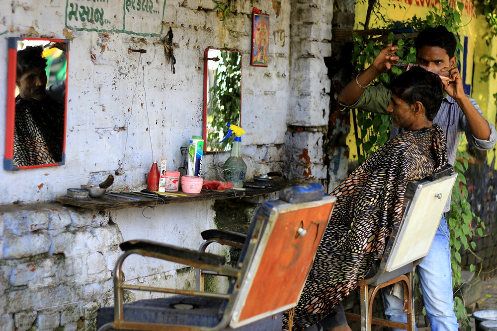 Project 365-Street-side-barber-rohit-pansare