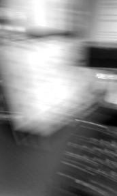 Life as a colourless blur…