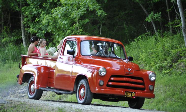 Kentucky Barn Wedding Vehicle