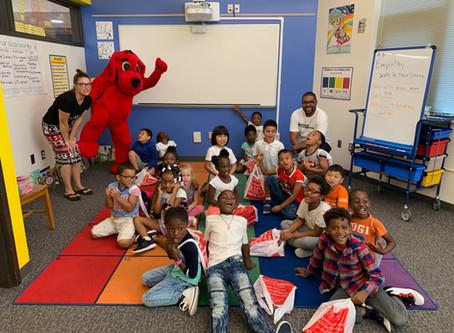 Spark kicks off the year at Monroe Elementary!