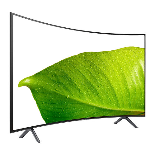 "Samsung RU7300 65"" Class HDR 4K UHD Smart Curved LED TV 