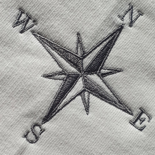 Nautical Compass Embroidery Pattern