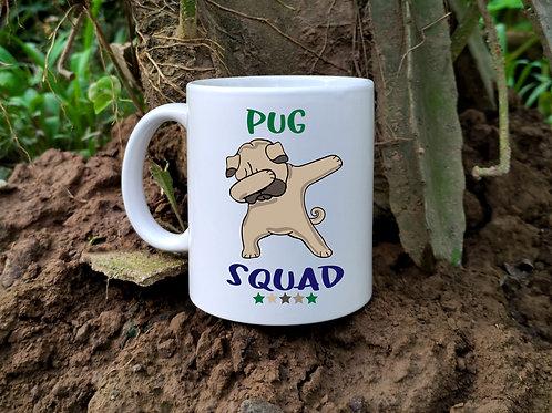 Pug Squad Mug