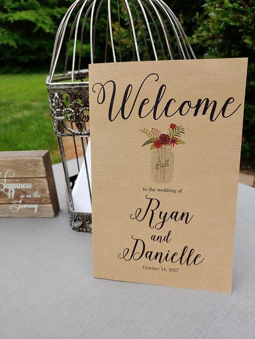 The Traditional Wedding Program