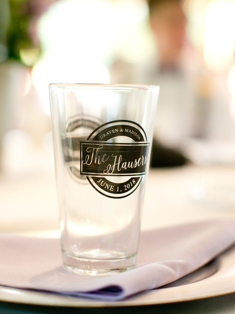 The Hauser Glass - photo by Nichol Lancaster Photography