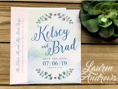 The Brad Save the Date