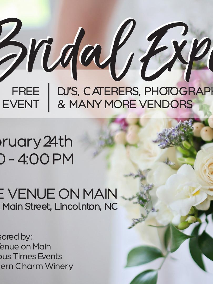 Bridal Expo Graphic