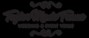 Taylor Made Farms logo large black outli
