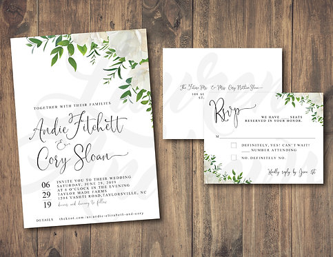 The Andie Invitation
