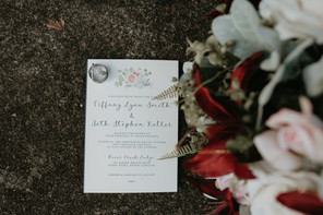 Wedding Invitation - photo by Katie Whalen Photography