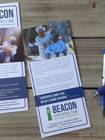 Logo Design + Rack Card Design + Promotional Pens