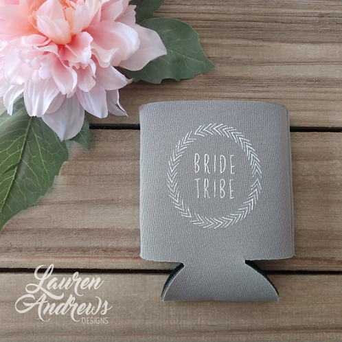 Bride Tribe Collapsible Can Cooler