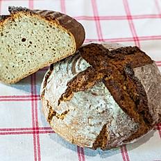 100% ražný chlieb