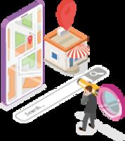 B6: Googleマイビジネス登録イラスト