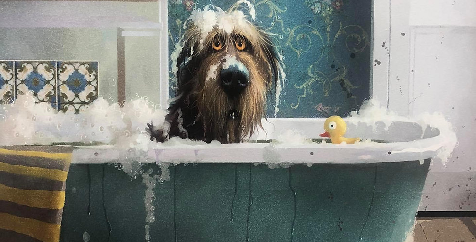 'Bathtime' Signed Limited Edition Print By Stephen Hanson