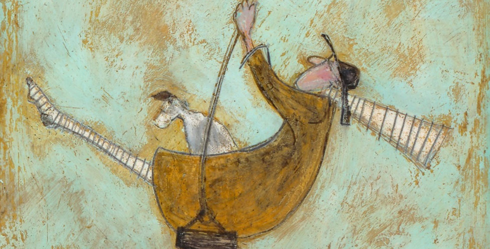 Flying Free Signed Limited Edition by Sam Toft