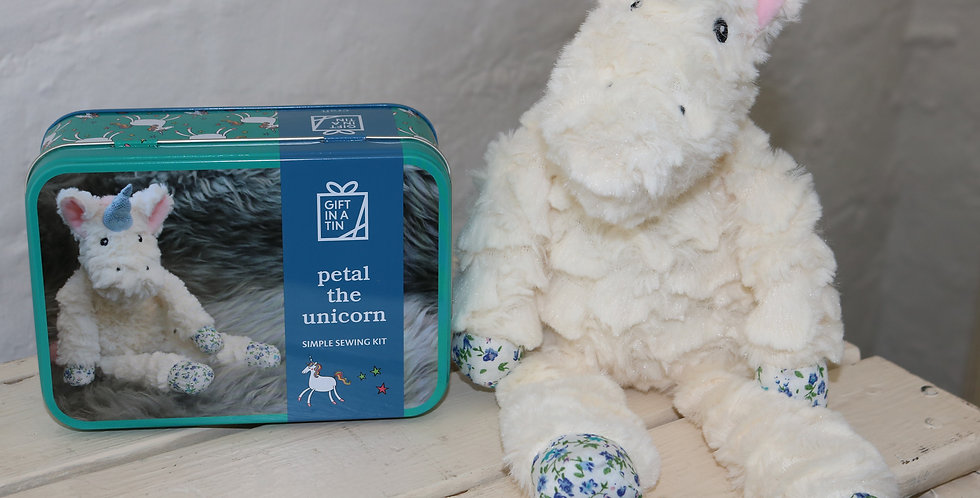 Petal the Unicorn -Simple Sewing Kit