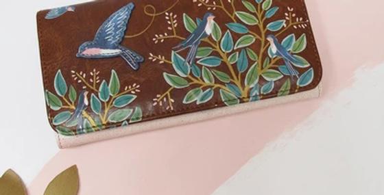 Secret Garden Bird Wallet