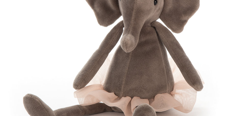 Jellycat Small Dancing Darcy Elephant