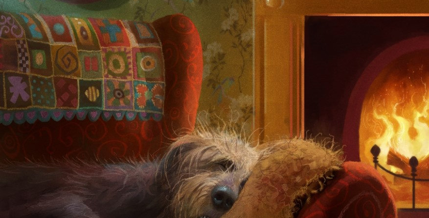 'Dog Tired' Signed Limited Edition Print  by Stephen Hanson