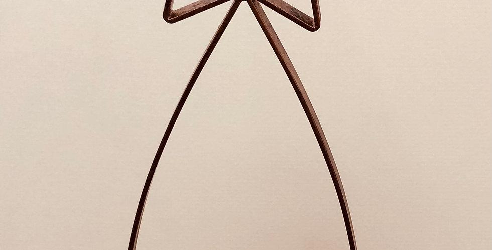 Metal Star Hanging Tea Light Holder