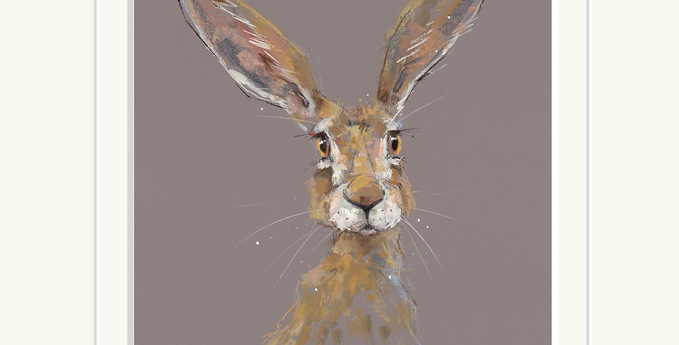 All Ears Signed Limited Edition Print by Nicky Litchfield