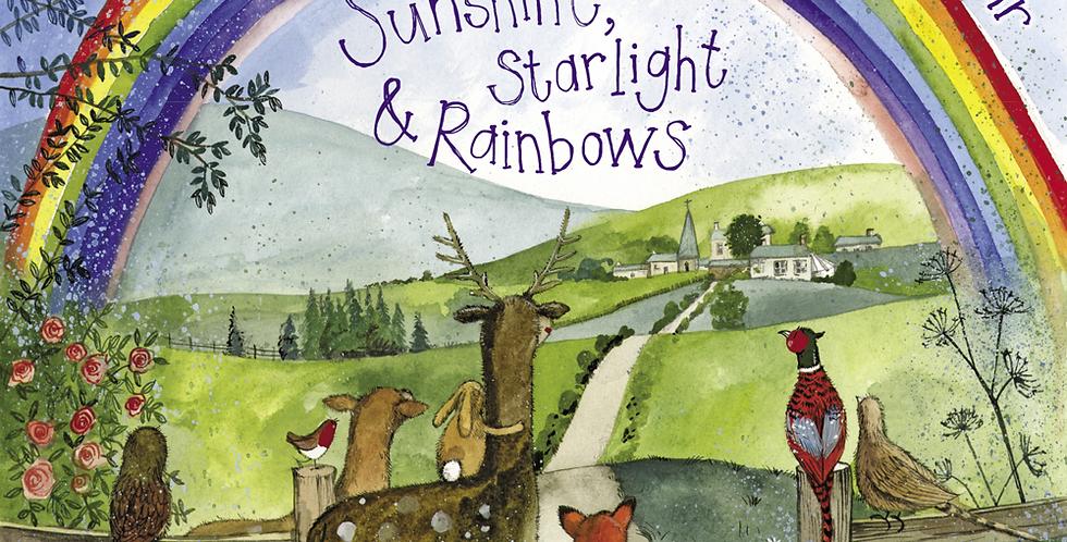 Sunshine, Starlight & Rainbows Alex Clark 2021Calendar